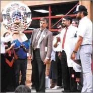 Opening Bella Coola School 1990